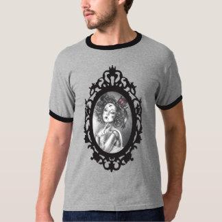 T-shirt de Goth du T-shirt des hommes de poupée de