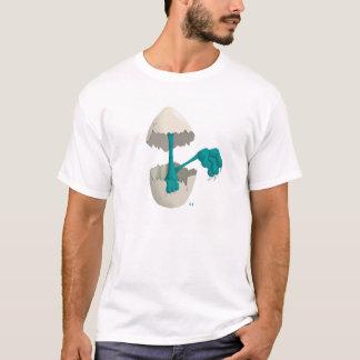 T-shirt de graffiti