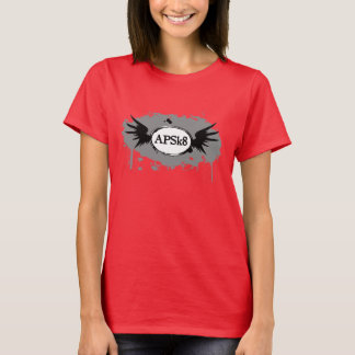 T-shirt de graffiti d'APSk8 Skaterz