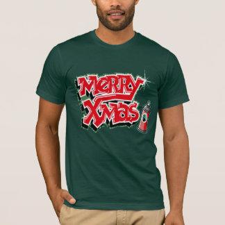 T-shirt de graffiti de Noël