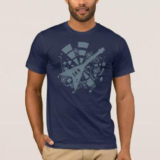 T-shirt de guitare du vol V