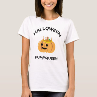 T-shirt de Halloween Pumpqueen