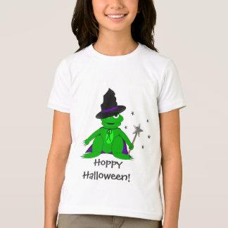 T-shirt de houblon de Halloween de grenouille