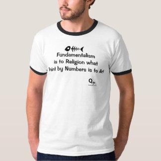"""T-shirt de """"intégrisme religieux"""""""
