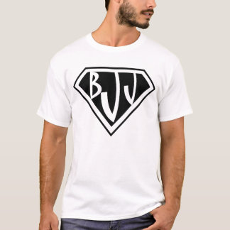 T-shirt de Jiu Jitsu de Brésilien de logo de BJJ