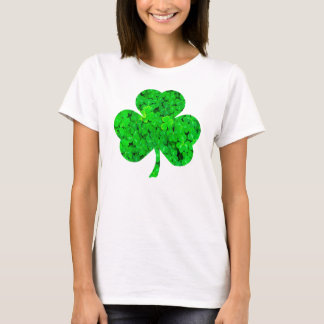T-shirt de Jour de la Saint Patrick de shamrock de