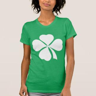 T-shirt de Jour de la Saint Patrick de trèfle de