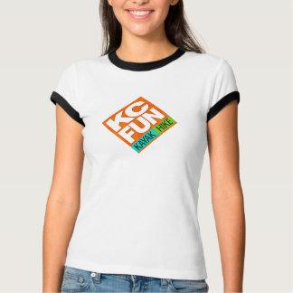 T-shirt de kayak d'AMUSEMENT de kc/de sonnerie de