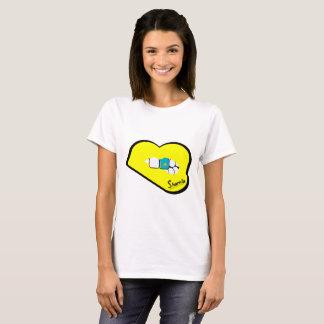 T-shirt de Kazakhstan des lèvres de Sharnia