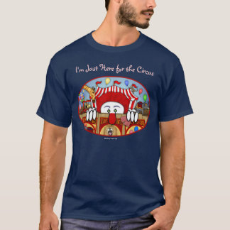 T-shirt de Kilroy de clown de cirque