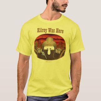 T-shirt de Kilroy de cowboy