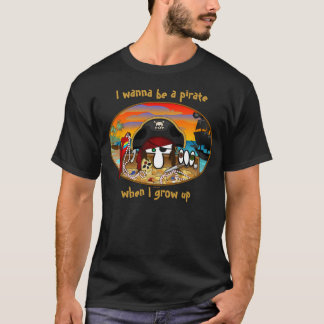 T-shirt de Kilroy de pirate