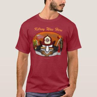 T-shirt de Kilroy de sapeur-pompier