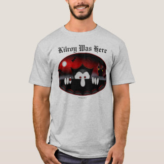 T-shirt de Kilroy de vampire