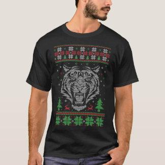 T-shirt de knit de tigre