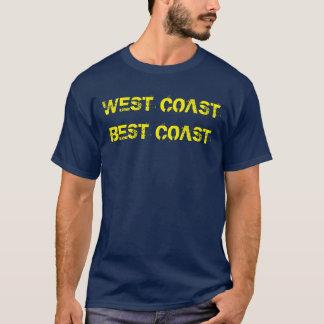 """T-shirt de la meilleure """"côte de côte ouest"""""""