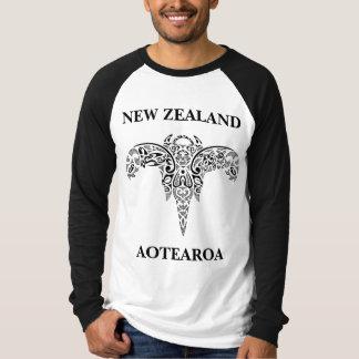 T-shirt de la Nouvelle Zélande AOTEAROA