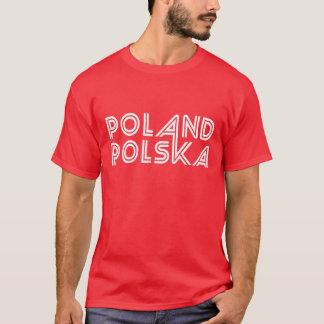 T-shirt de la Pologne Polska des hommes