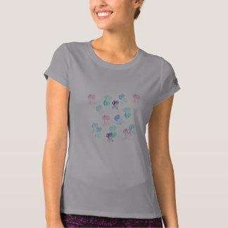 T-shirt de la représentation des femmes de méduses