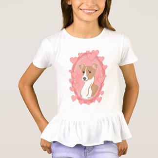 T-shirt de la ruche des filles de lévrier italien