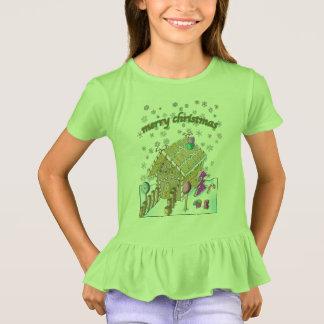 T-shirt de la ruche des filles, Joyeux Noël
