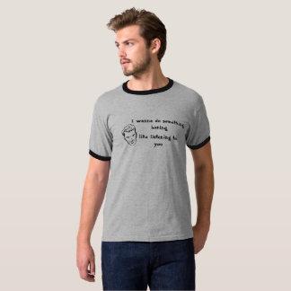 T-shirt de la sonnerie des hommes drôles