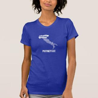 T-shirt de la Toscane de Pré-Université dans des