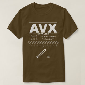 T-shirt de l'aéroport AVX de Catalina