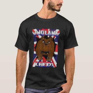 T-shirt de Leeds Angleterre pour le bouledogue des