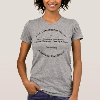 T-shirt de l'encolure ras du cou des femmes de
