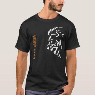 T-shirt de lion du kRAV MAGA