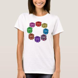 T-shirt De lions chemise en abondance