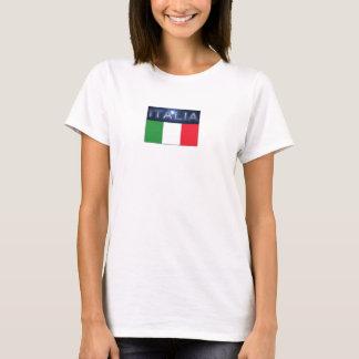T-shirt de l'Italie des femmes