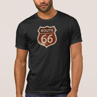 T-shirt de l'ITINÉRAIRE 66 des hommes