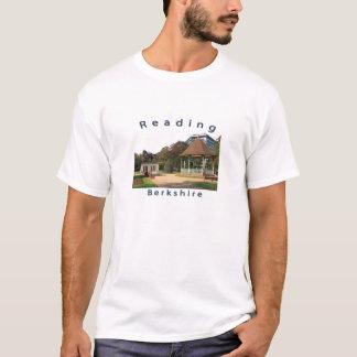 T-shirt de logo de lecture