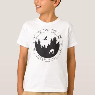T-shirt de logo de Wildwoods des enfants