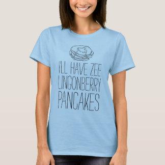 """T-shirt de LOL : """"CRÊPES D'AIRELLE """""""