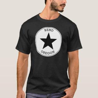 T-shirt de l'Orégon de courbure