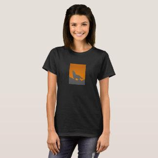 T-shirt de loup d'hurlement