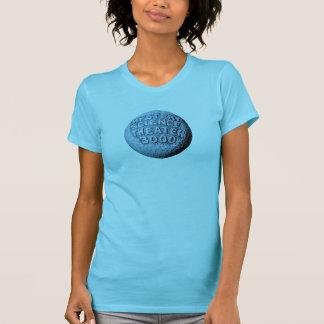 T-shirt de lune de MST3K (Aqua léger)