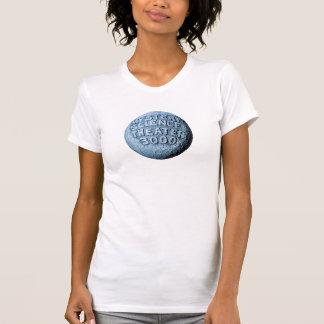 T-shirt de lune de MST3K (blanc)