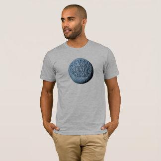 T-shirt de lune de MST3K (gris de Heather)