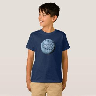 T-shirt de lune de MST3K (marine)