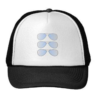 T-shirt de lunettes de soleil d'aviateur casquette trucker