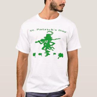T-shirt de lutin de jour de Patricks de saint