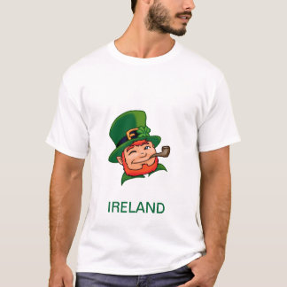 T-shirt de lutin de l'Irlande