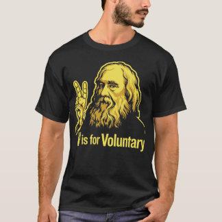 T-shirt de Lysander Spooner Voluntaryism