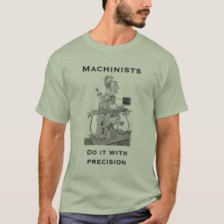 T-shirt de machinistes