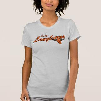 T-shirt de Madame Longhorns Jersey