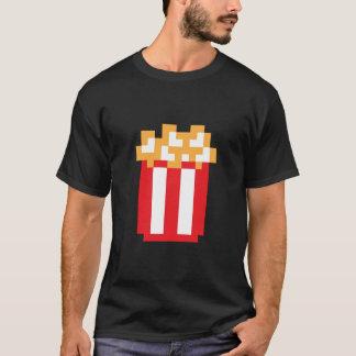T-shirt de maïs éclaté de pixel
